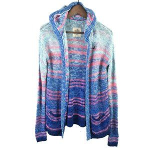 Hollister Womens Hooded Cardigan Sweater Size XS/S